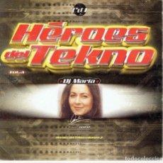 CDs de Música: CD HÉROES DEL TEKNO DJ MARTA. Lote 265896498