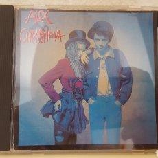 CDs de Música: CD - ALEX & CHRISTINA, CRISTINA ROSENVINGE, CD WEA 242395-2, 1988, MUY DIFÍCIL. Lote 265903773