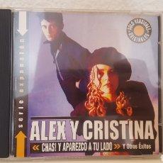 CDs de Música: CD - ALEX Y CRISTINA - CHRISTINA ROSENVINGE - WEA – 0927439452 - 2002 - MUY DIFICIL. Lote 265903923