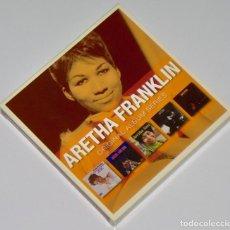 CDs de Música: ARETHA FRANKLIN: ORIGINAL ALBUM SERIES - 5 CD BOX SET - LADY SOUL, ARETHA NOW, SPIRIT IN THE DARK.... Lote 265905363