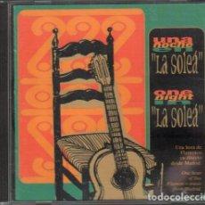 """CDs de Musique: UNA NOCHE EN """"LA SOLEA"""" - UNAS HORAS DE FLAMENCO DESDE MADRID / CD ALBUM 1996 RF-9943. Lote 265949813"""