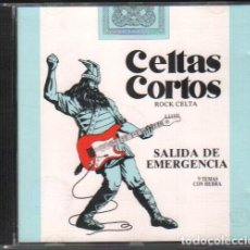 CDs de Música: CELTAS CORTOS - SALIDA DE EMERGENCIA / CD ALBUM DE 1990 / MUY BUEN ESTADO RF-9950. Lote 265951548