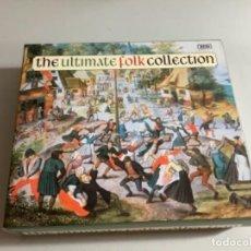 CDs de Música: TRIPLE CD THEULTÍMATE FOLK COLLECTION. MÚSICA CELTA IMPORTACIÓN INGLATERRA.. Lote 265952523