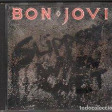 CDs de Música: BON JOVI - SLIPPER WHEN WET / CD ALBUM DE 1986 / MUY BUEN ESTADO RF-9959. Lote 265953913