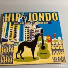 CDs de Música: HIP JONDO Y FLAMENCO RAP. MALA RODRÍGUEZ, LA EXCEPCIÓN, HAZE, LAS NIÑAS, TOMASITO...2004. Lote 265954278