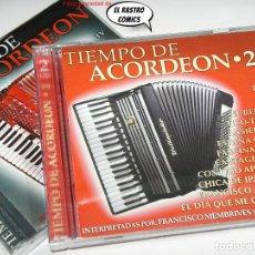 CD de Música: ACORDEÓN, TIEMPO DE, VOL 1 Y 2, DOBLES, CON 4 CD, FRANCISCO MEMBRIVES Y ORQUESTA, EXCELENTE ESTADO. Lote 265989283