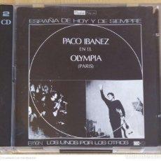 CDs de Música: PACO IBAÑEZ (EN EL OLYMPIA - PARIS) 2 CD'S 1996. Lote 265997098