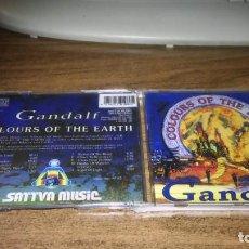 CD de Música: GANDALF - COLOURS OF THE EARTH. Lote 266003288