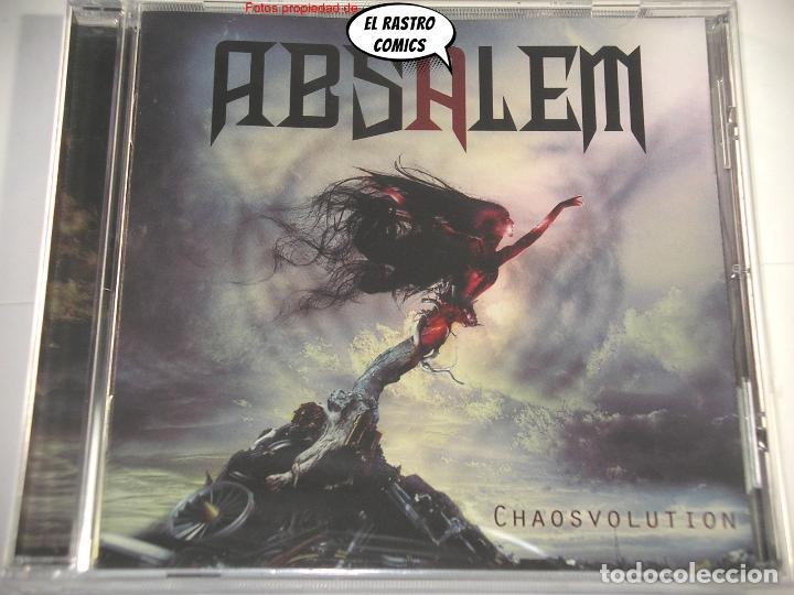 CDs de Música: Absalem, Chaosvolution, precintado, CD Art Gates 2017, Melodic Death Metal, Salamanca - Foto 2 - 266029118
