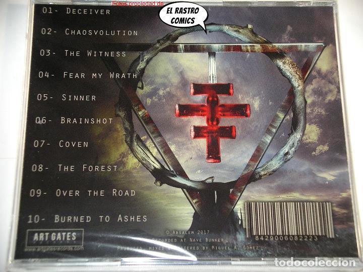 CDs de Música: Absalem, Chaosvolution, precintado, CD Art Gates 2017, Melodic Death Metal, Salamanca - Foto 3 - 266029118