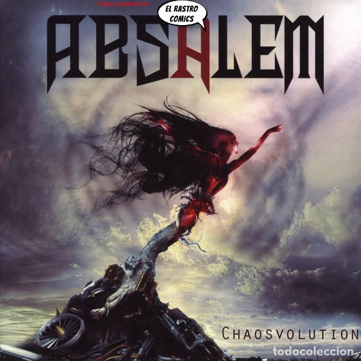ABSALEM, CHAOSVOLUTION, PRECINTADO, CD ART GATES 2017, MELODIC DEATH METAL, SALAMANCA (Música - CD's Heavy Metal)