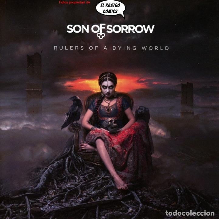SON OF SORROW RULERS OF A DYING WORLD PRECINTADO CD ART GATES 2018 GOTHIC METAL JEREZ DE LA FRONTERA (Música - CD's Heavy Metal)