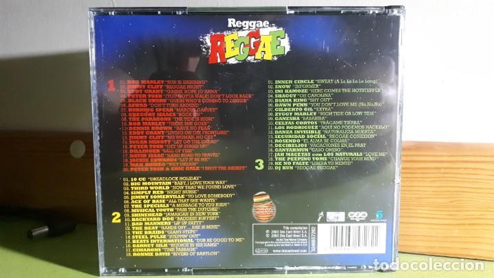 CDs de Música: REGGAE - TODO LO MEJOR DE LA MÚSICA REGGAE - TRIPLE CD - 2003 - COMPRA MÍNIMA 3 EUROS - Foto 2 - 266086143