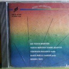 CDs de Música: LIVE MUSIC NOW - BRAHMS - BLOCH - YSAYE - HAYDN - COMPRA MÍNIMA 3 EUROS. Lote 266089333