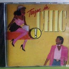 CDs de Música: CHIC - TONGUE IN CHIC - COMPRA MÍNIMA 3 EUROS. Lote 266092928