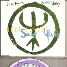 CD di Musica: DEEP FOREST - SWEET LULLABY (SEVEN VERSIONS) (CDSINGLE CAJA, CBS 1993). Lote 266142243