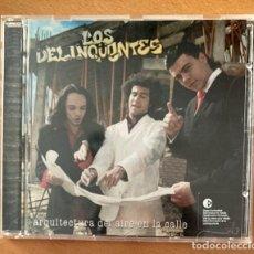 CDs de Música: LOS DELINQUENTES - ARQUITECTURA DE AIRE EN LA CALLE. Lote 266158363
