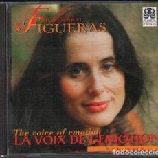 CDs de Música: MONTSERRAT FIGUERAS - THE VOICE OF EMOTION / CD ALBUM DE 1996 / MUY BUEN ESTADO RF-9967. Lote 266211263