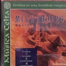 CDs de Musique: MILLADOIRO - MUSICA CELTA - SONIDOS DE UNA IDENTIDAD MAGICA. Lote 266254013