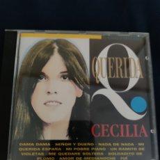 CDs de Musique: CD QUERIDA CECILIA. Lote 266286668