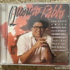 CDs de Música: CD PABLO MILANÉS. Lote 266291818