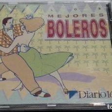 CDs de Música: CD PROMO DIARIO 16 ( LOS MEJORES BOLEROS ) 1993. Lote 266307813