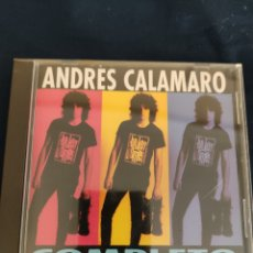 CDs de Música: CD ANDRÉS CALAMARO. COMPLETO. Lote 266307993