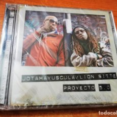 CD di Musica: JOTAMAYUSCULA LION SITTE PROYECTO 5.0 CD ALBUM PRECINTADO CONTIENE 6 TEMAS RAP HIP HOP RARO. Lote 266318278