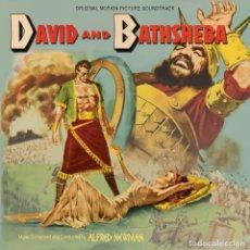 CDs de Musique: DAVID AND BATHSHEBA / ALFRED NEWMAN CD BSO - KRITZERLAND. Lote 140662874
