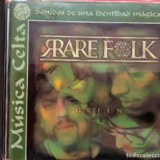 CDs de Musique: RARE FLOK GREEN - MUSICA CELTA - SONIDOS DE UNA IDENTIDAD MAGICA. Lote 266383323