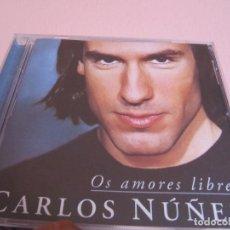 CDs de Música: CARLOS NUÑEZ - OS AMORES LIBRES. Lote 266432513