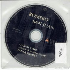 CDs de Música: CD ROMERO SAN JUAN. Lote 266507438