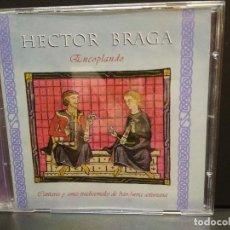 CDs de Música: HECTOR BRAGA ENCOPLANDO CD FONO ASTUR 2004 ASTURIAS PEPETO. Lote 266607488