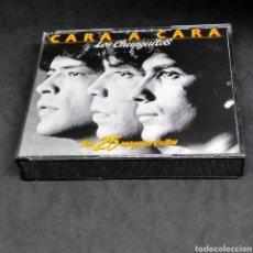 CDs de Música: LOS CHUNGUITOS - CARA A CARA - SUS 25 MAYORES ÉXITOS - CD DOBLE - INCLUYE INSERTO - 1991. Lote 266811454