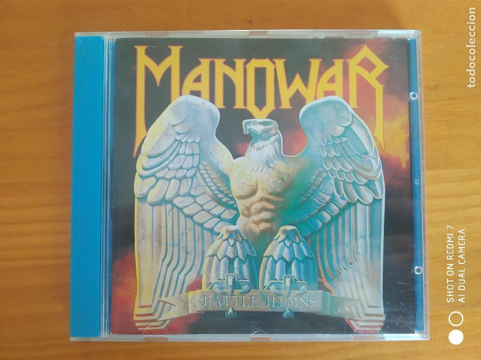 CD MANOWAR - BATTLE HYMNS (AU) (Música - CD's Heavy Metal)