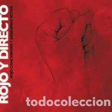 CDs de Música: ROJO Y DIRECTO - ROJO CANCIONERO Y BANDERAS ROTAS. Lote 267011759