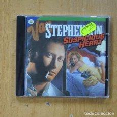 CDs de Musique: VAN STEPHENSON - SUSPICIOUS HEART - CD. Lote 267018454