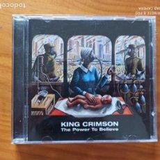 CDs de Música: CD KING CRIMSON - THE POWER TO BELIEVE (CR). Lote 267054894