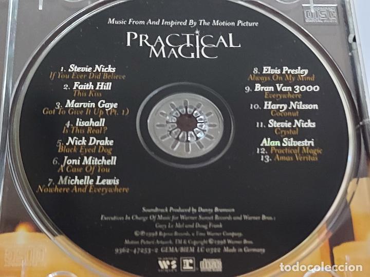 CDs de Música: B.S.O. / PRACTICAL MAGIC / CD - WARNER BROS / 12 TEMAS / IMPECABLE. - Foto 2 - 267095579