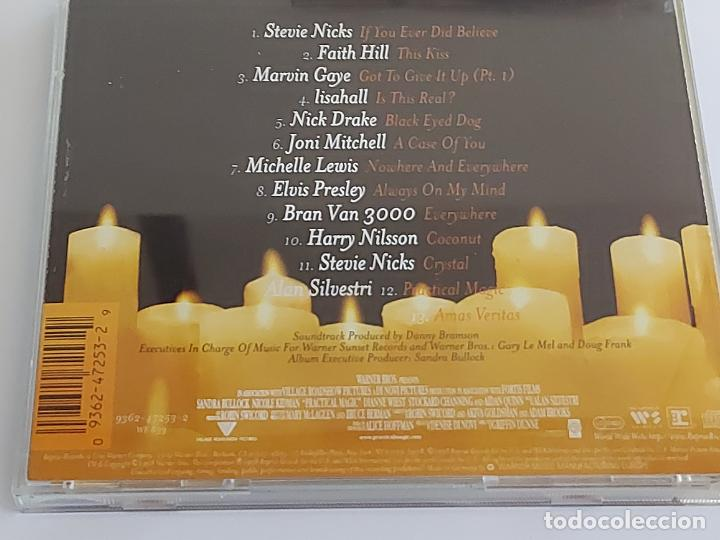 CDs de Música: B.S.O. / PRACTICAL MAGIC / CD - WARNER BROS / 12 TEMAS / IMPECABLE. - Foto 3 - 267095579