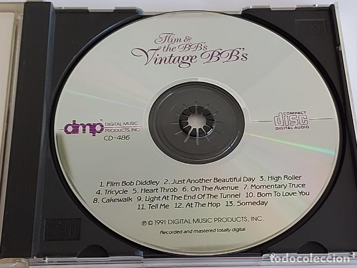 CDs de Música: FLIM & THE BBS / VINTAGE BBS / CD - DMP-1991 / 13 TEMAS+BONUS / IMPECABLE. - Foto 2 - 267097294