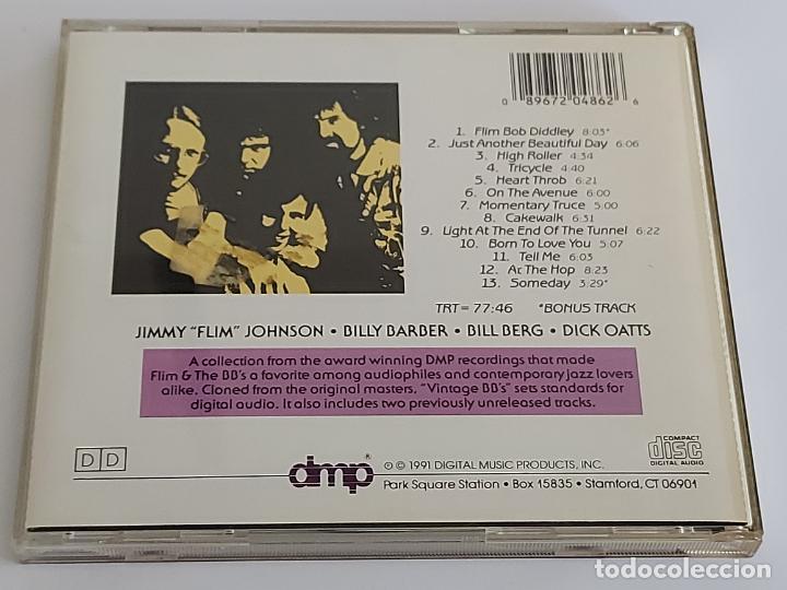 CDs de Música: FLIM & THE BBS / VINTAGE BBS / CD - DMP-1991 / 13 TEMAS+BONUS / IMPECABLE. - Foto 3 - 267097294