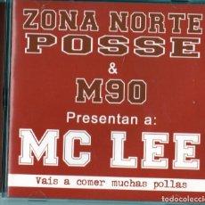 CDs de Música: MC LEE - VAIS A COMER MUCHAS POLLAS. Lote 267105594