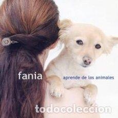 CDs de Música: FANIA - APRENDE DE LOS ANIMALES. Lote 267121854
