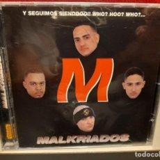 CDs de Música: CD MALKRIADOS : Y SEGUIMOS SIENDOOO !! WHO? HOO? WHO? ( LATIN MERENGUE RAP HIP HOP CUBANO ). Lote 267129389