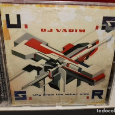 CDs de Música: CD DJ VADIM -LIFE FROM THE OTHER SIDE. Lote 267129859