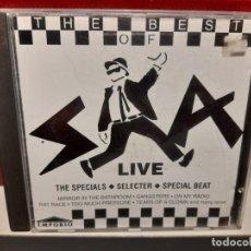 CDs de Música: CD SKA LIVE ( GRUPOS THE SPECIALS + SELECTER + SPECIAL BEAT ). Lote 267130404
