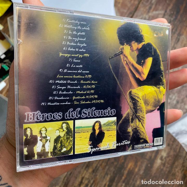 CDs de Música: Heroes del silencio - spanish rarities Ultimate Sound - cd - bunbury - Foto 2 - 267135379