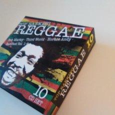 CDs de Música: TOP RANKING REGGAE BOX SET 10CD BOB MARLEY THIRD WORLD HORACE ANDY REGGAE SUNFEST. Lote 267165479