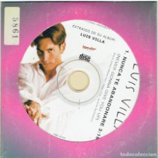 CDs de Música: CD LLUIS VILLA, NUNCA TE ABANDONARE. Lote 267189104